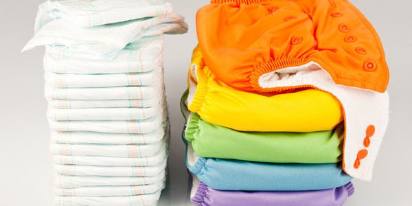 image of a pile of nappies