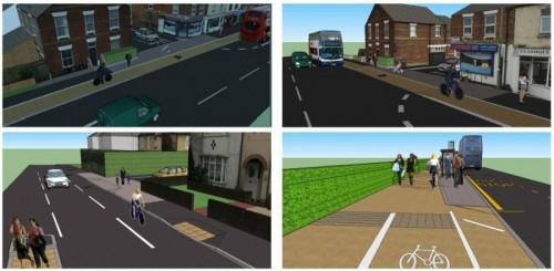 Multi-million pound transport improvement plans go on show