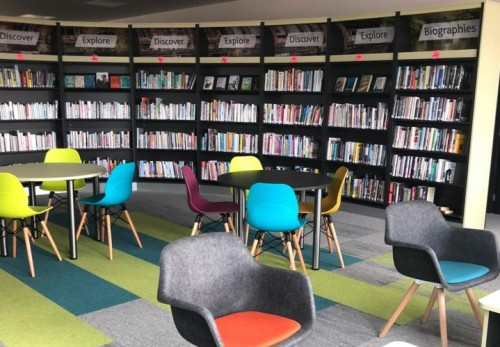 New library opens at the West Way in Botley