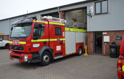 Oxfordshire's firefighters praised for COVID-19 response