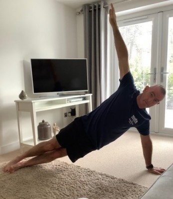 Oxfordshire firefighters 'planking' for armed forces charity