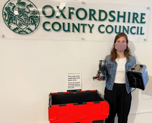 Recycle your electrical goods at some Oxfordshire libraries