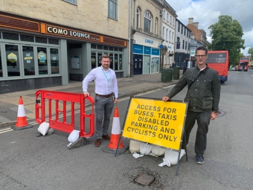 Witney active travel improvements on the way
